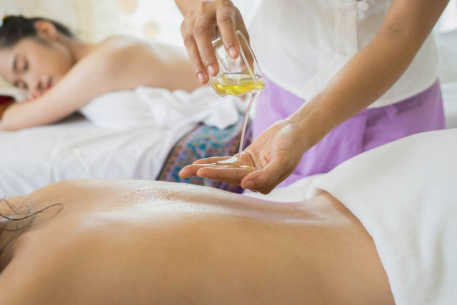 Olejová masáž, Masáž, Relax