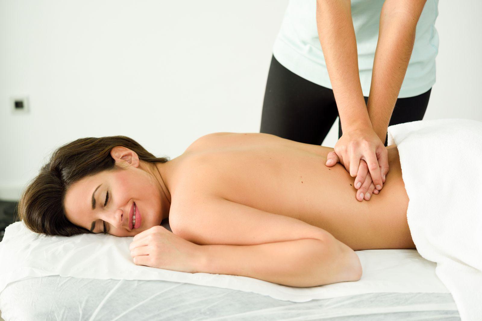 Masáž, Žena, Relax, Oddych