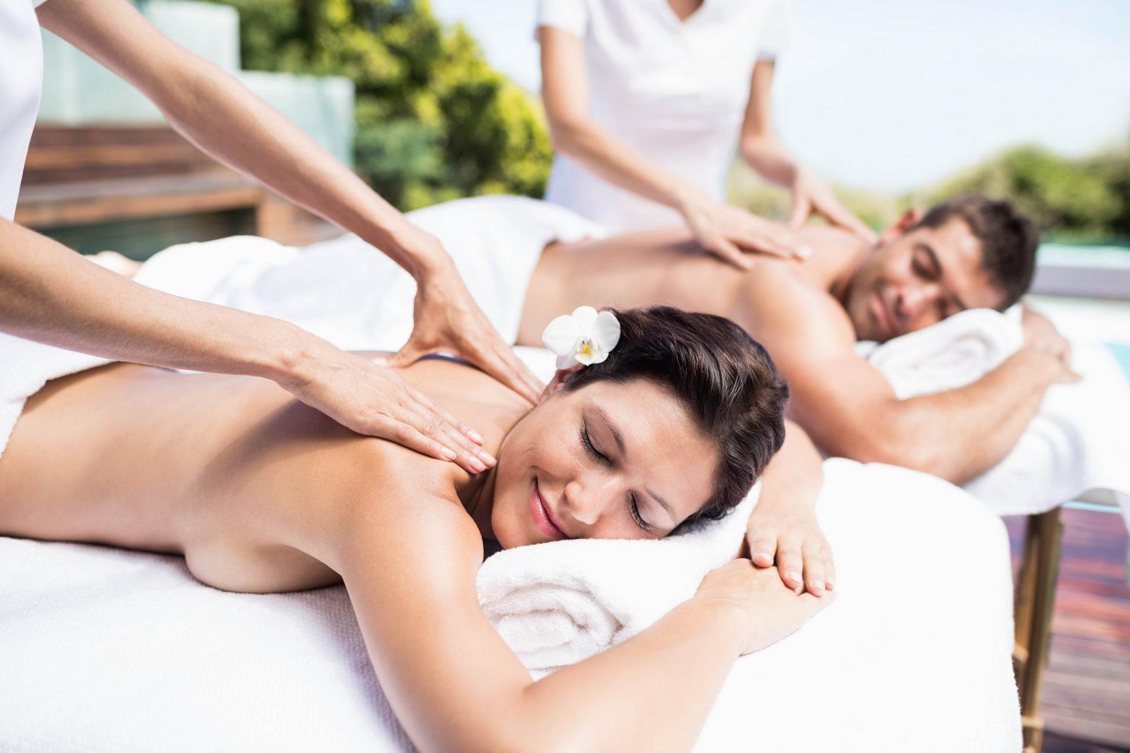 Masáž pre dvojice, Partneri, Masáž, Romantická masáž
